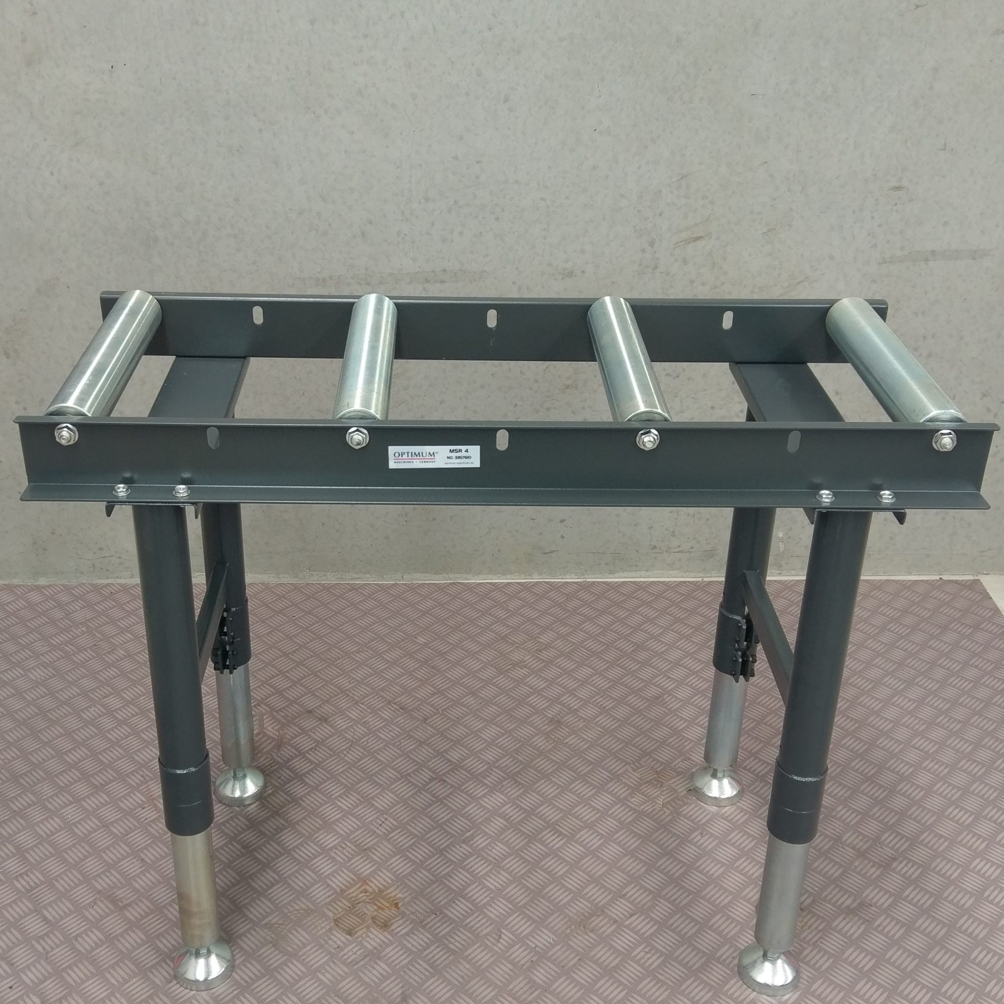 Conveyor roller stand table band drop cold saw packaging for 12 inch table saw for sale
