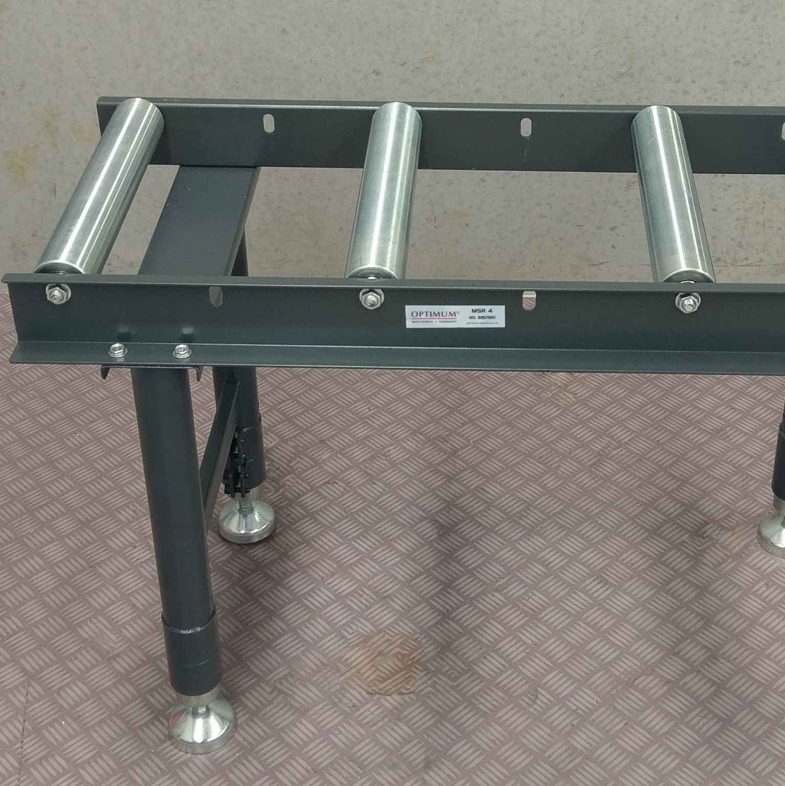 Conveyor Roller Stand Table Band Drop Cold Saw Packaging
