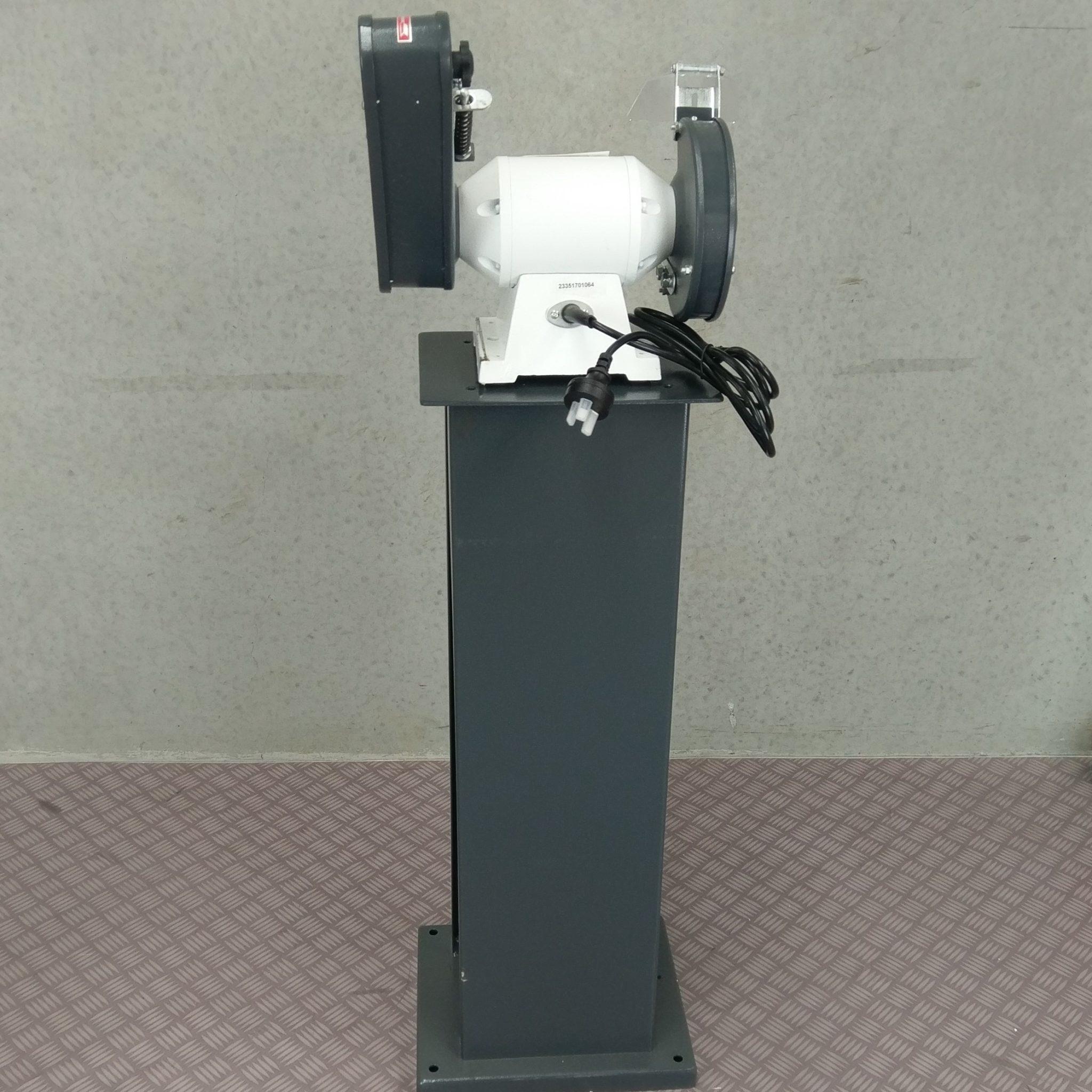 Metex 150mm Combo Bench Grinder Linisher Belt Sander With